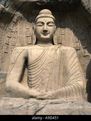 Statue of Buddha - Stock Image