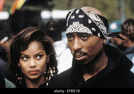 TUPAC SHAKUR ABOVE THE RIM (1994) - Stock Image