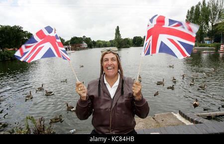 Don Maclean, English actor and comedian, presenter of Crackerjack. - Stock Image