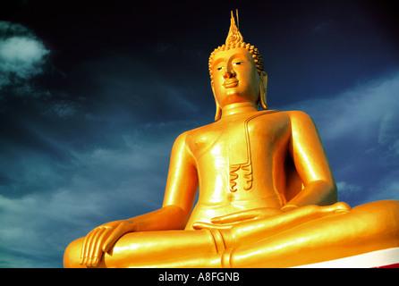 Big Buddha, Koh Samui, Thailand - Stock Image