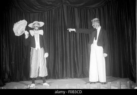 A minstrel show - Stock Image