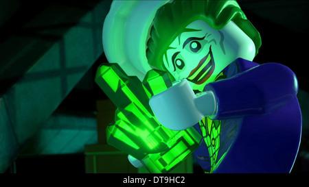 JOKER LEGO BATMAN: THE MOVIE - DC SUPERHEROES UNITE (2013) - Stock Image