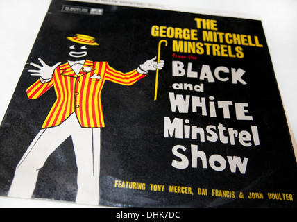 The Black and White Minstrel Show was a popular BBC TV show from 1958 to 1978 - Stock Image