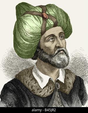 Muhammad (Abu al Kasim Muhammad ibn Abdallah), circa 570 - 8.6.632, Arabian Prophet, founder of Islam, portrait, - Stock Image