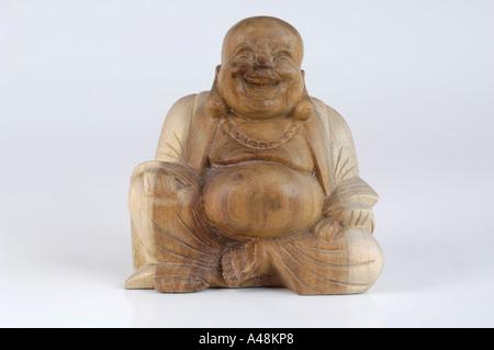 Laughing Buddha - Stock Image
