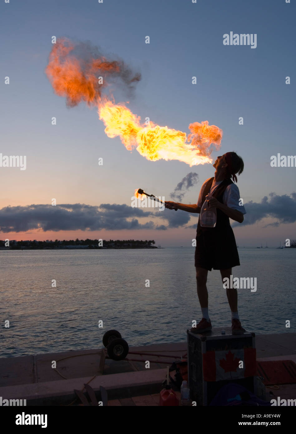 mallory-square-fire-breather-sunset-cele