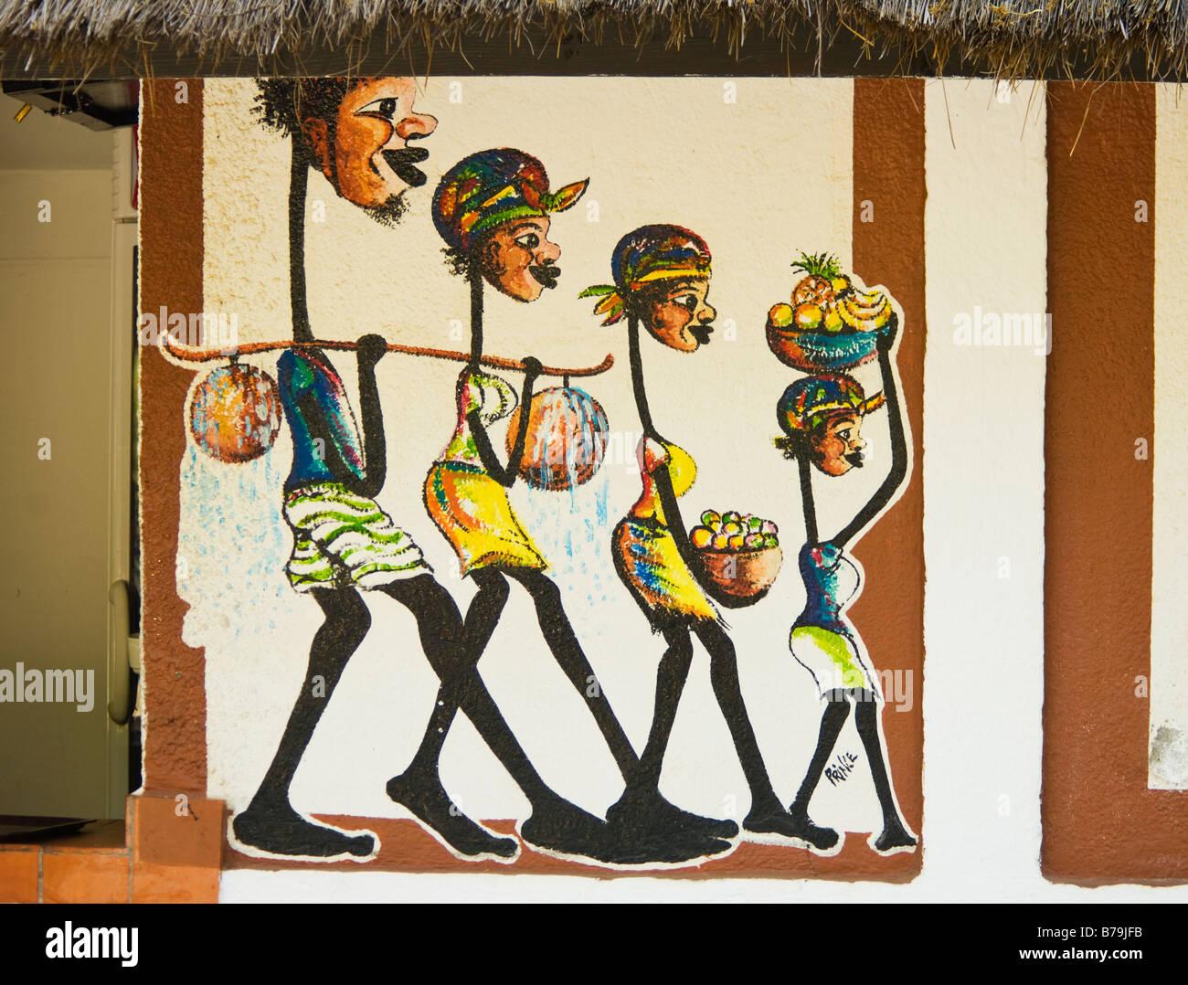 wall-painting-hotel-senegambia-banjul-the-gambia-B79JFB.jpg
