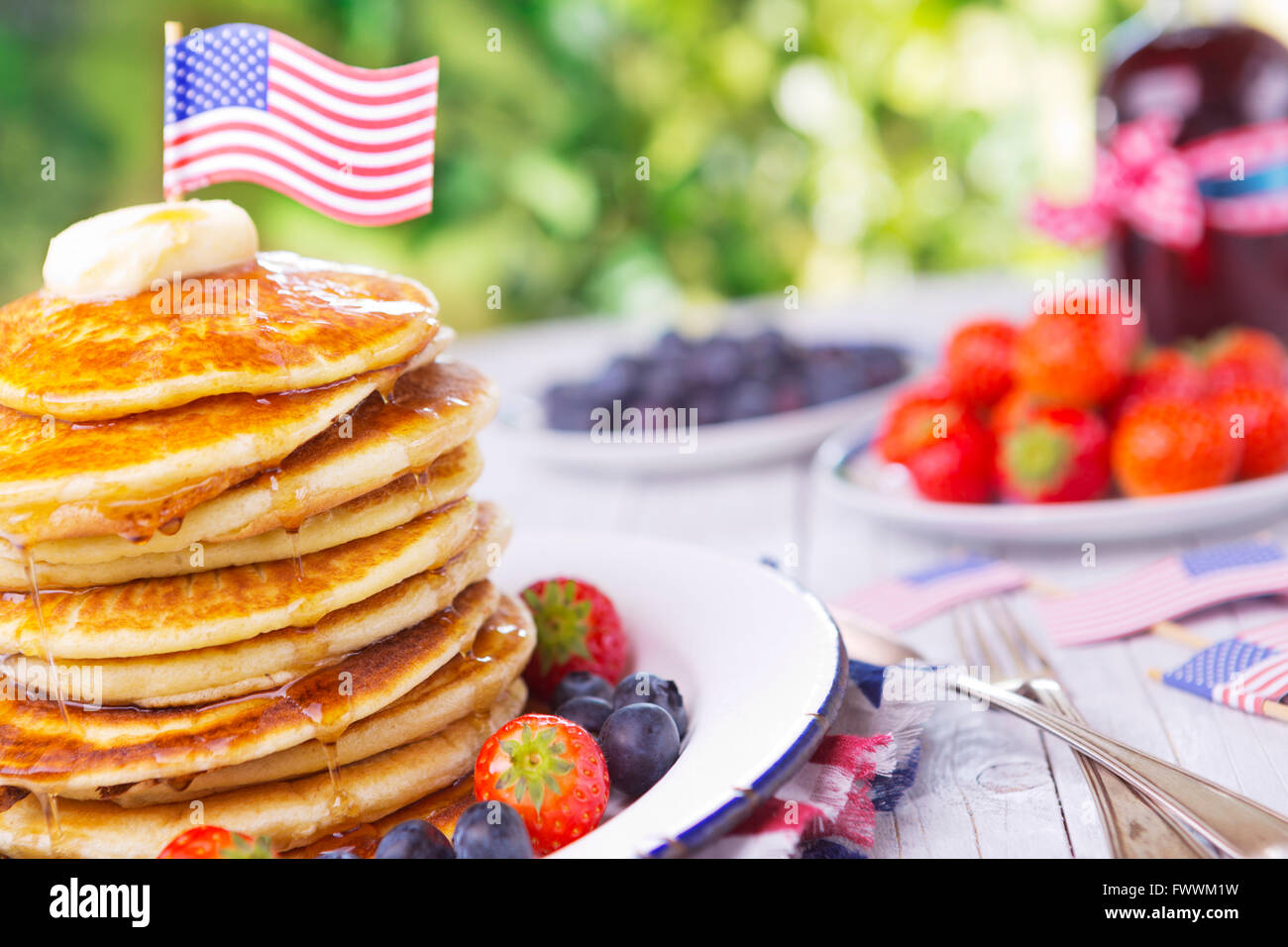 a-stack-of-homemade-pancakes-with-fresh-