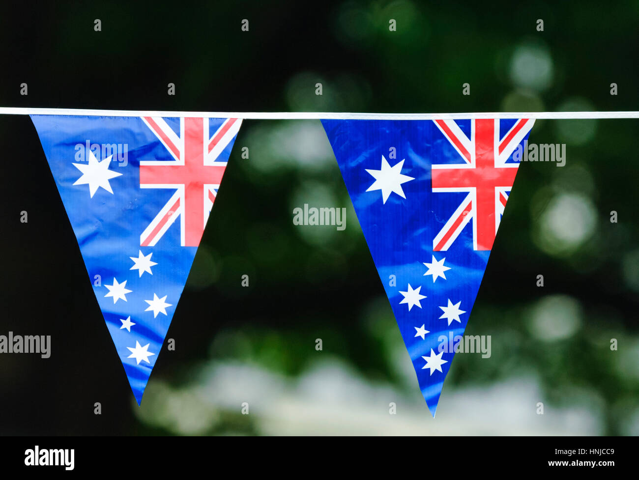 buntings-of-the-australian-flag-displaye