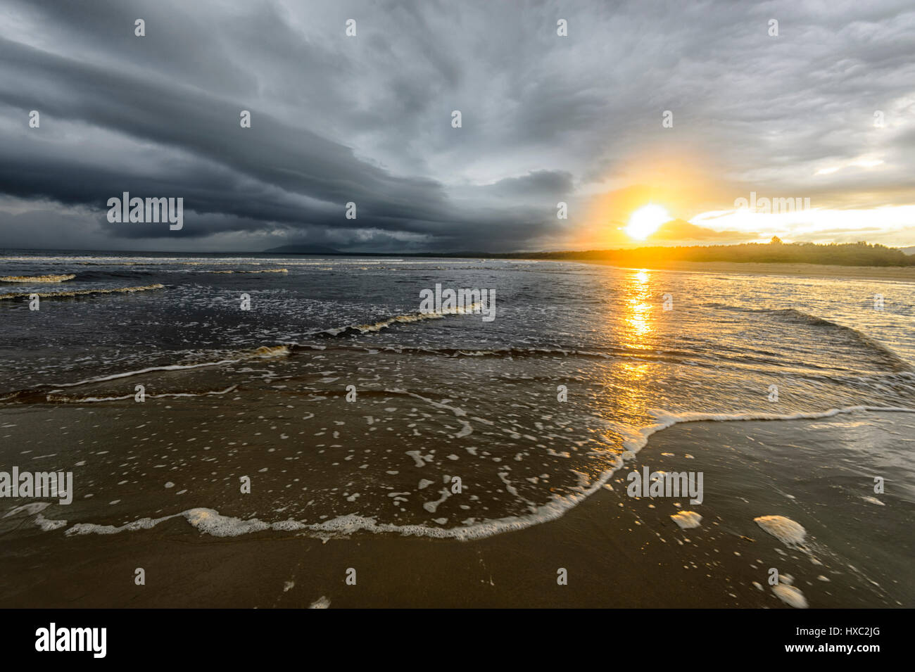 sunset-and-stormy-weather-at-seven-mile-