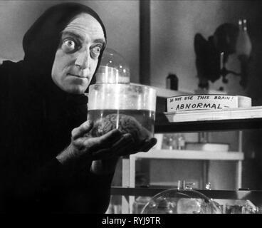 MARTY FELDMAN, YOUNG FRANKENSTEIN, 1974 - Stock Image