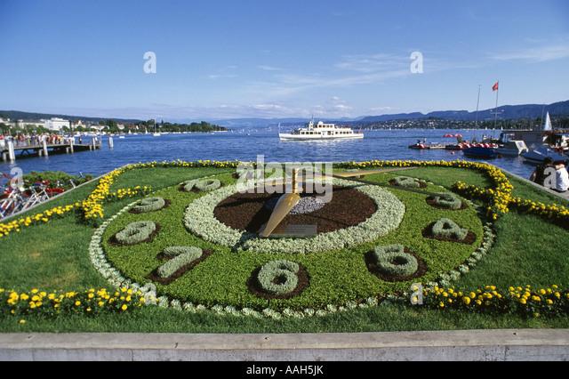 flower-clock-by-lake-zurichsee-zurich-sw